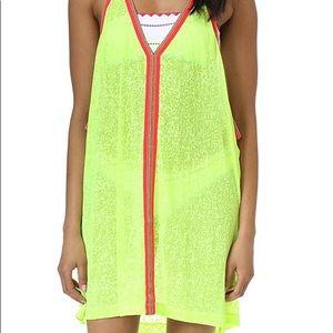 Pitusa Clothing cover-up dress (lemon). One size.